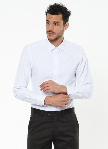Altınyıldız Classics Klasik Slim Fit Uzun Kollu Gömlek Beyaz